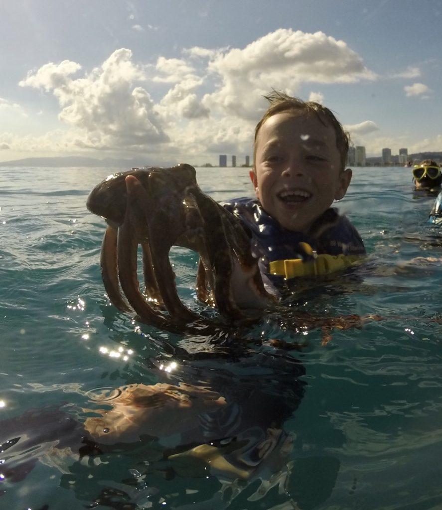 Snorkeling in Waikiki